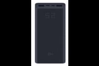 Внешний аккумулятор Power Bank Xiaomi Mi ZMI Aura 20000 mAh Черный (QB822)